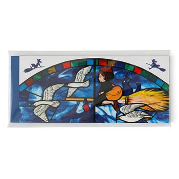 ジブリ美術館ステンドグラス 一筆箋 「魔女の宅急便」
