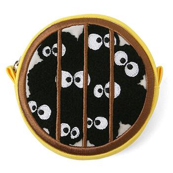 ジブリ美術館オリジナル マックロクロスケ潜水窓 刺繍ポーチ