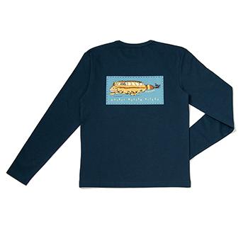 Tシャツ 長袖 ジブリ美術館20周年 ネイビー